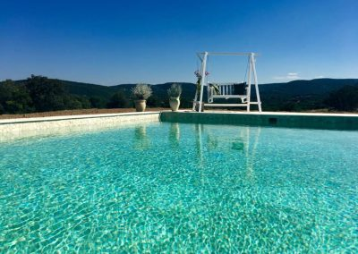 The Pool at Yogiyoga Retreat Sardinia June September 2018