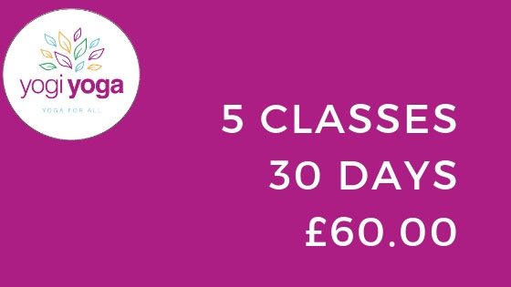 yogiyoga pricing Intro Offer - Unlimited Classes for 30 Days