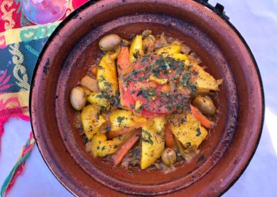 Moroccan food yogiyoga retreat